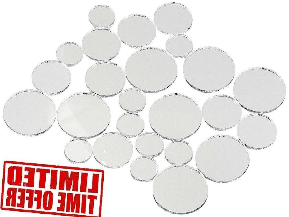 variable sizes mirrors set 25 pc wall