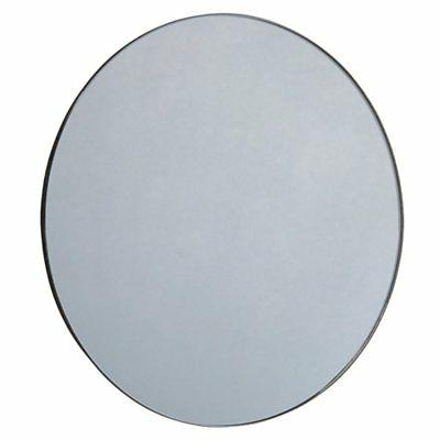 vision small round accent wall mirror