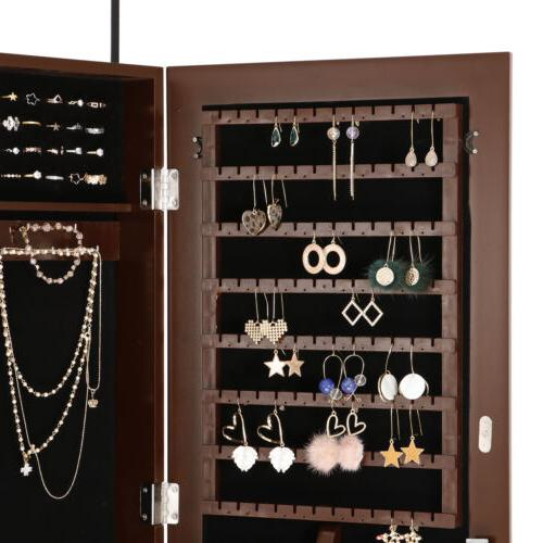 Wall Cabinet Organizer with Mirror