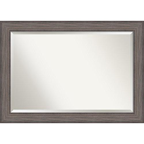 wall mirror country barnwood outer