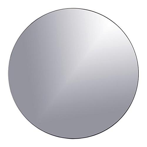 x round glass mirror wedding