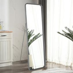 Large Full Length Floor Mirror Free Standing Hanging Living