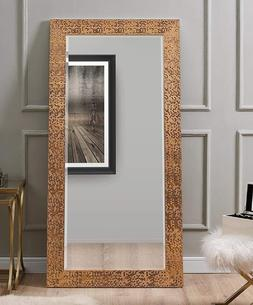 Large Full Length Floor Mirror Wall Hang Leaning Lounge Copp