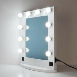 Large Hollywood Makeup Mirror Tabletop Vanity Lighted Dimmab