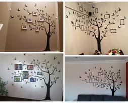 Large Size Colorful DIY Photo Vinyl Wall Stickers Tree For L