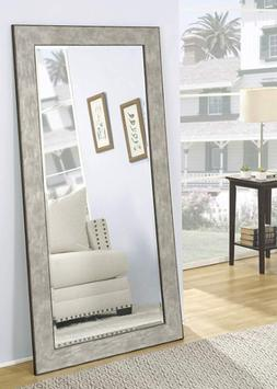 Large Wall Mirror Floor Leaning Standing Full Length Beveled