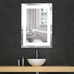LED Bathroom Lighted Vanity Wall Mirror for Make up Dimmable