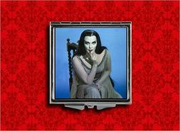 LILY MUNSTER BLUE VAMPIRE GOTH HORROR MAKEUP POCKET COMPACT