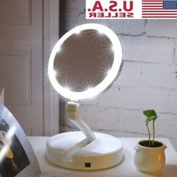 Magnifying Mirror 10x with Lights Up with Magnification LED
