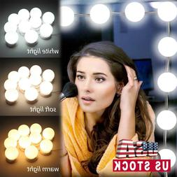 Make Up Mirror Lights 10 LED Kit Bulbs Vanity Light Dimmable