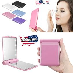 Makeup Compact Mirror Cosmetic Folding Portable Pocket with