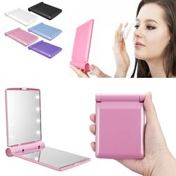 Makeup Cosmetic Folding Portable Compact Pocket Mirror with