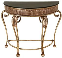 Deco 79 Metal Console Table, 41 by 33-Inch