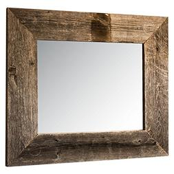Drakestone Designs Mirror with Barnwood Frame | Wall Mount |