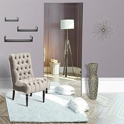 "Naomi Home Mirrored Bevel Mirror 70"" x 30"""