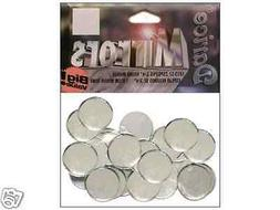 Darice Mirrors Big Value Pack ROUND 3/4 in. 25 pc. New In Pa