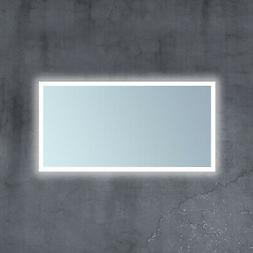 "Miseno MM4824RTLED 24"" x 48"" Frameless Bathroom Mirror with"
