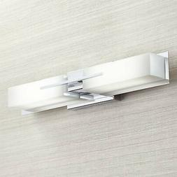 "Modern Wall Light LED Chrome 23 1/2"" Vanity Fixture for Bath"