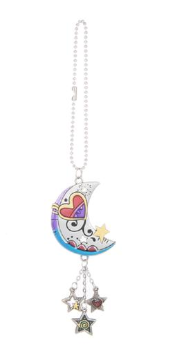 MOON & STARS Ganz Car Charm with Dangle Charms & Chain for R