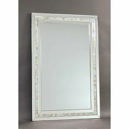 Wayborn Mother Of Pearl Beveled Accent Mirror