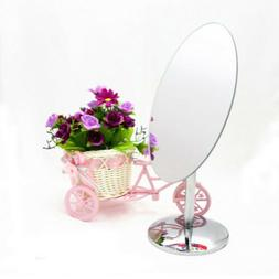 Movable Bathroom Shaving Vanity Mirror Standing Makeup Mirro