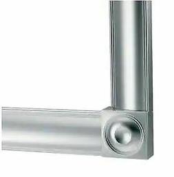 Moen MS2048CH Polished Chrome 4 ft. Decorative Frame Straigh