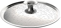 "Alessi MW200/24""Dressed"" Lid in 18/10 Stainless Steel Mirror"