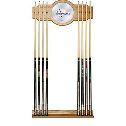 Trademark Gameroom NHL Washington Capitals Cue Rack with Mir