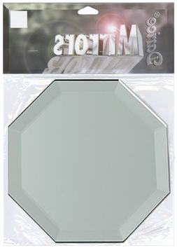 Octagon Glass Mirror W/Bevel Edge 4-1/Pkg