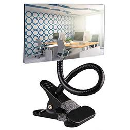 office clip on cubicle mirror computer rearview