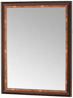 Head West Oil Rubbed Bronze Mirror, 26 by 32-Inch