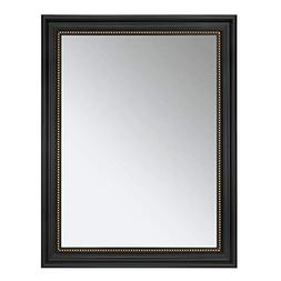 ONE WALL Rectangular Wall Mirror Black Hanging Framed Mirror