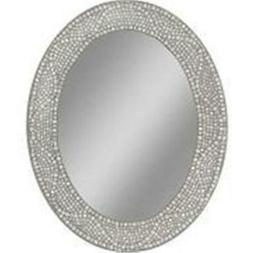 Kaifeituo Opal Mosaic Oval Mirror, 23 by 29-Inch