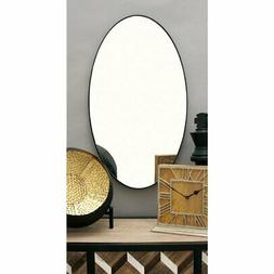 DecMode Oval Wall Mirror