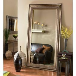 Over-sized Extra Large Floor Mirror  Full Length Bronze Fram