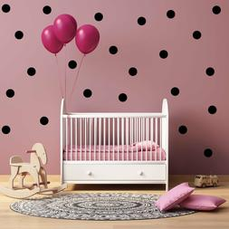 vinyl Poka dots pick size and color Wall Decals for Nursery,