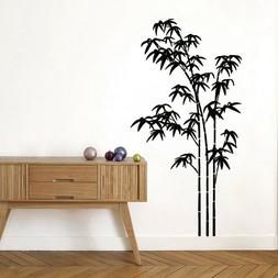 Plant Bamboo Flower Vinyl Wall Decal Sticker Living Room Mur