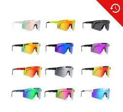 Pit Viper Polarized Sunglasses Cycling Sport Goggles TR90 Fo