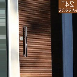 """Pull Push 24"""" Handles for  Entrance Entry Front Door, Tubula"""