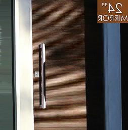 """Pull Push 24"""" Handles for Entrance Entry Front Door,Rectangl"""