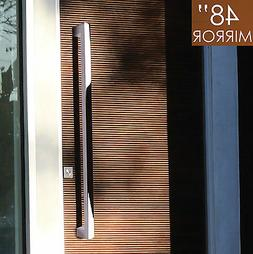 """Pull Push 48"""" Handles for  Entrance Entry Front Door, Rectan"""