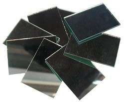 Rectangle Glass Beads For Frames, Jewelry Boxes, Walls, Door