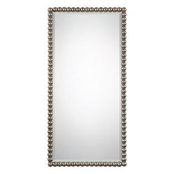 Uttermost Serna Antiqued Silver Wall Mirror