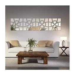 Set 48 Art Wall Stickers 3D Picture Removable Home Decor Vin