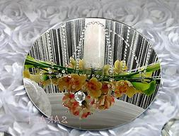 Set of 3 Acrylic Mirrors  for Wedding Table Centerpieces or