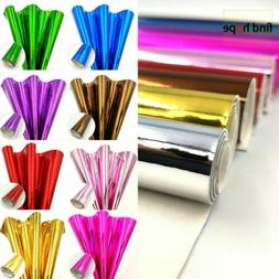 Shiny Glossy PU Leather Fabric Sheets Laser Fabric Mirror Cl