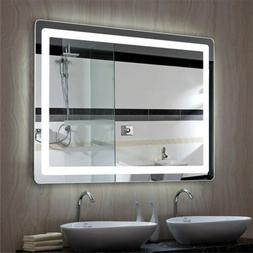 Smart Bathroom Mirror Anti Fog Wall Mirror with LED Bright L