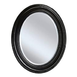 Head West Sonoma Espresso Oval Mirror, 24 by 31-Inch