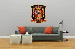 Spain Soccer National Team The Red Fury logo - Wall Decal fo