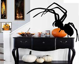 "Spider  #2~: Wall or Window Halloween Decal 20"" x 26"""